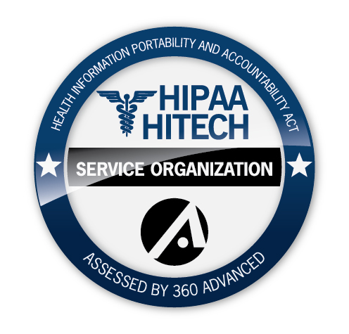 360 Advanced HIPAA Seal of Completion