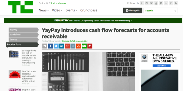 TechCrunch-accounts-receivables-announcement
