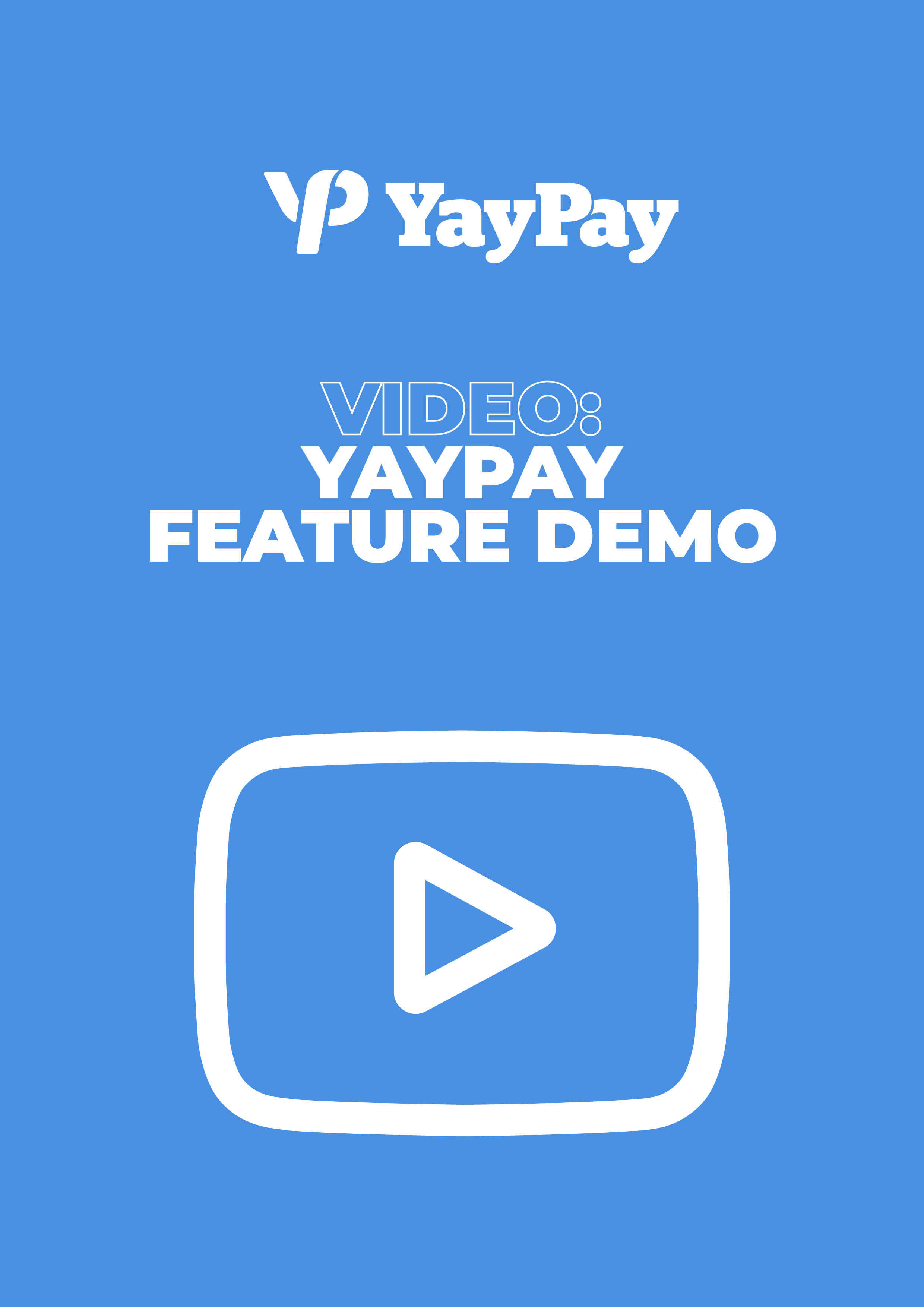 Video: YayPay Feature Demo