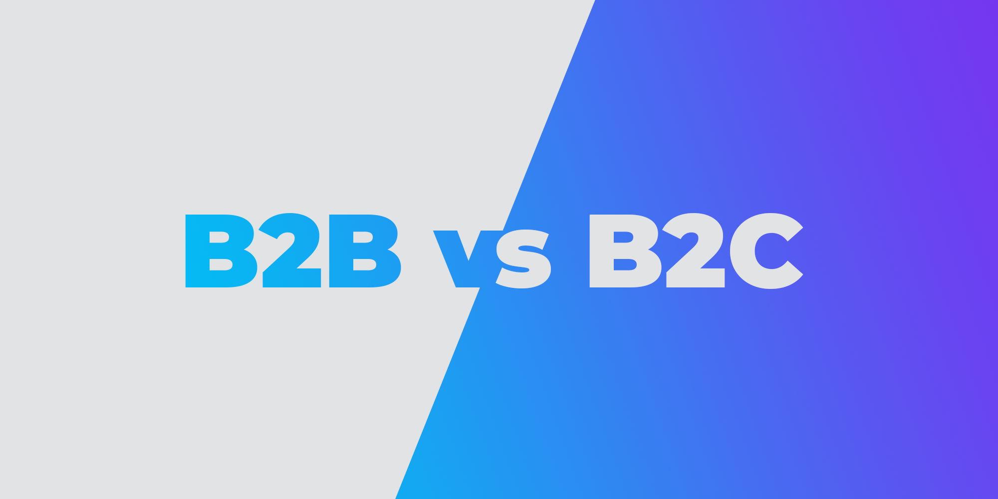 3 Reasons why managing B2B finance is more difficult than B2C