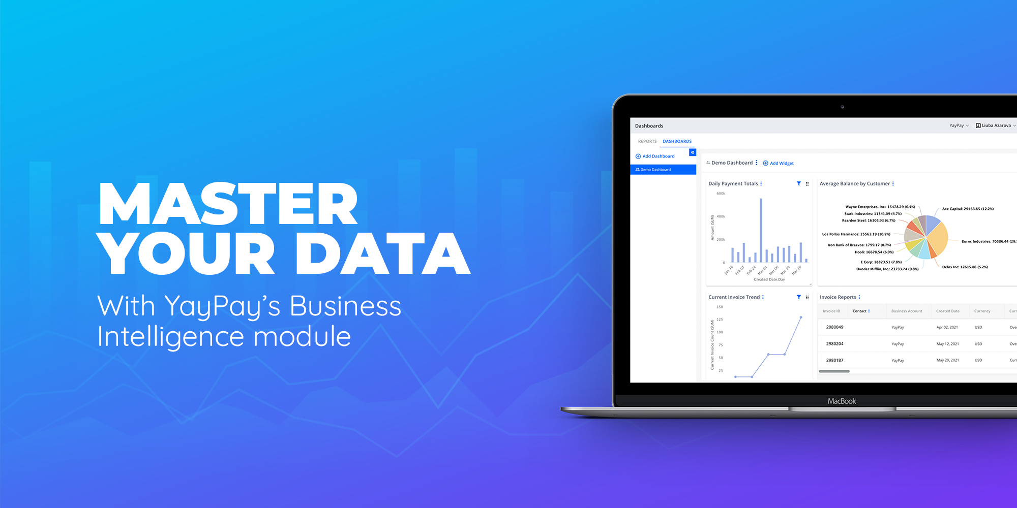 Transform your AR Reporting with YayPay's Business Intelligence (BI) Module