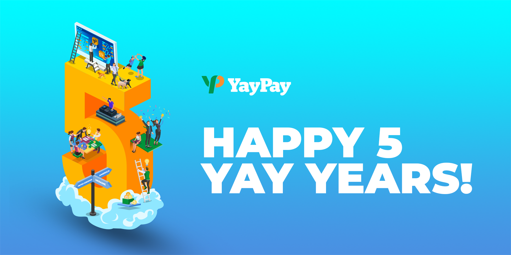 Happy 5th Anniversary YayPay!