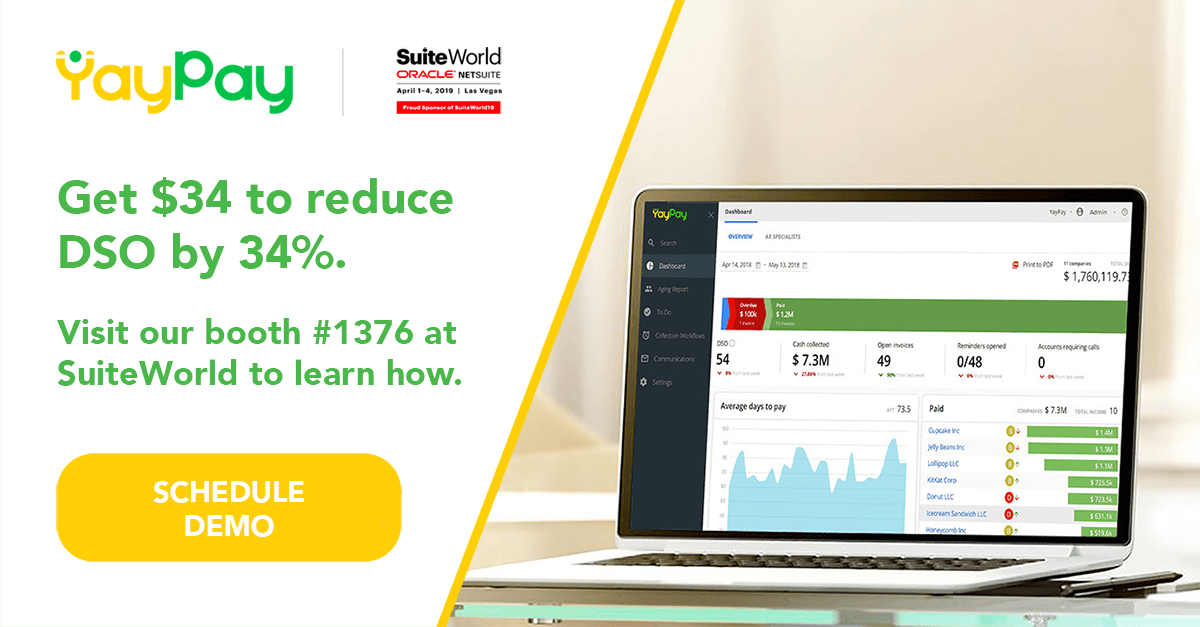 Calling All Revenue Heroes: Unite with YayPay at SuiteWorld 2019