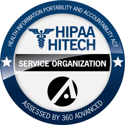 HIPPA Hitech Compliance Badge